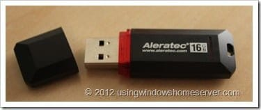 UWHS Review - Aleratec PortaStor Secure USB Flash Drive 013