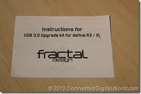 CDW - Fitting the Fractal Design USB 3.0 Upgrade Kit 029