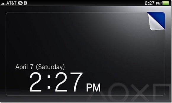 Vita Lock Screen