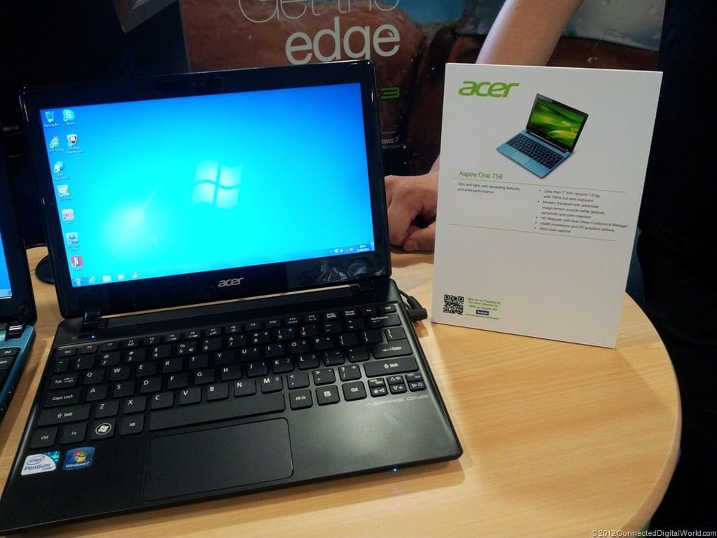 Acer Announces The Aspire E 756 Netbook Movies Games And