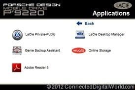 CDW Review of the LaCie Porsche Design Mobile Drive P9220 - 17