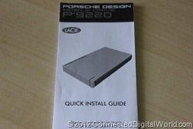 CDW Review of the LaCie Porsche Design Mobile Drive P9220 - 4