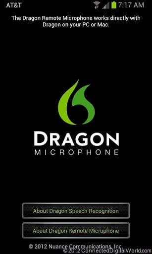 Android App: Dragon Remote Microphone - Movies Games and Tech