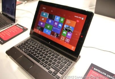 CDW - A closer look at the Toshiba Satellite U920t Convertible Ultrabook - 13