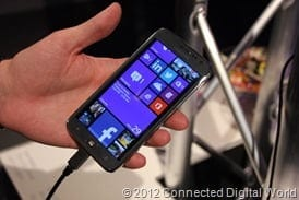 CDW - A look at the Samsung ATIV S Windows Phone 8 - 1