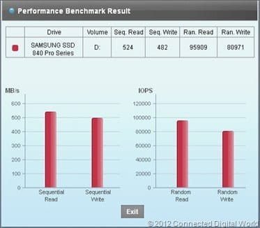 CDW Review of the Samsung SSD 840 Pro - 10
