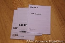 CDW - Review of the Sony Xperia T smartphone - 6