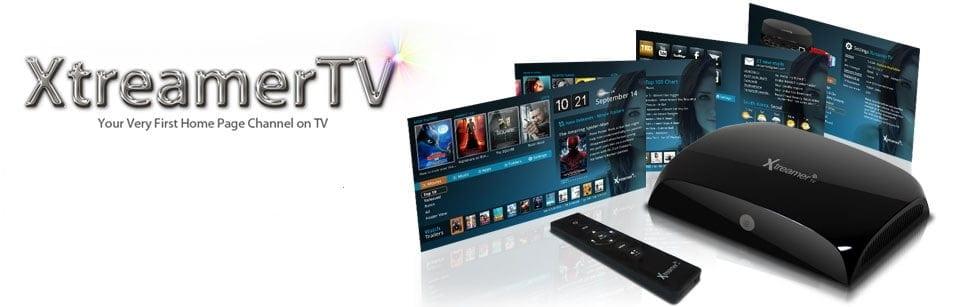 Xtreamer TV GUI