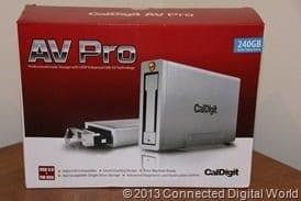 CDW Review of CalDigit AV Pro External Drive - 18