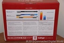 CDW Review of CalDigit AV Pro External Drive - 19