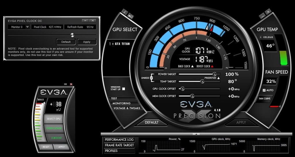 EVGA Precision X 4 1 0 overclocking utility released