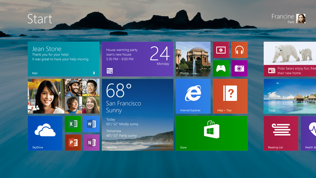Windows 8.1 with Start