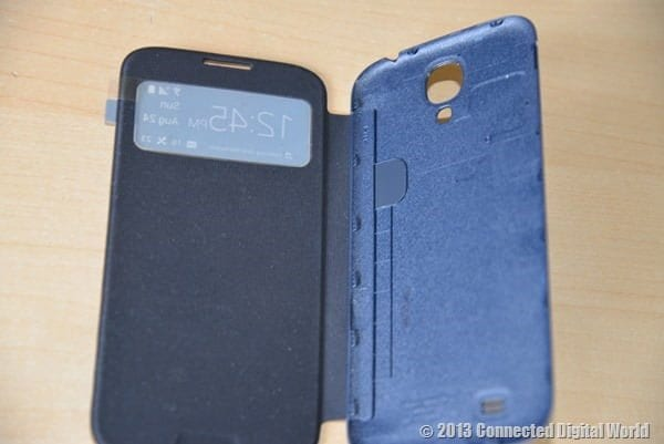 CDW Review Samsung Galaxy S4 S View Cover - 9