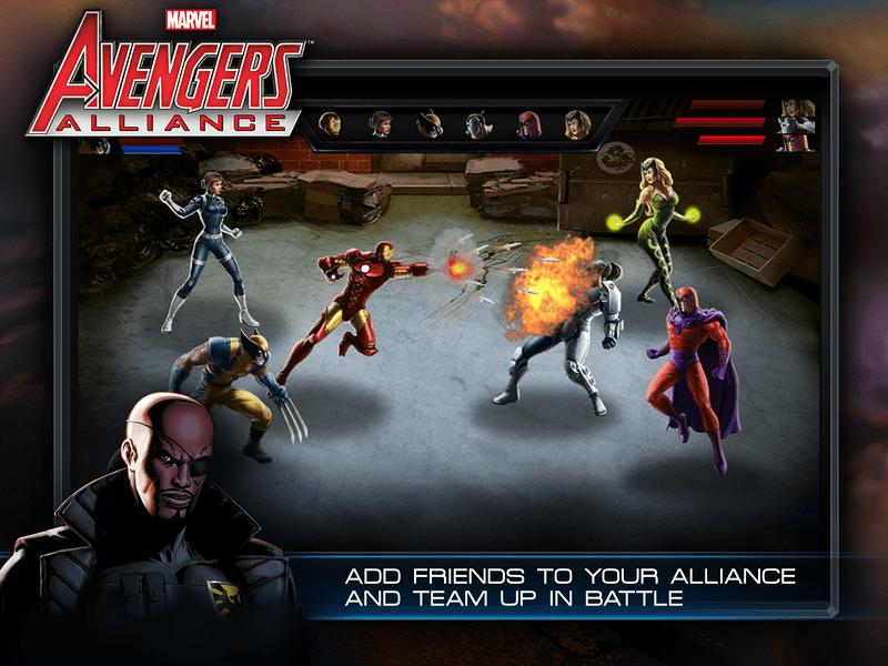 Marvel Avengers Alliance 1