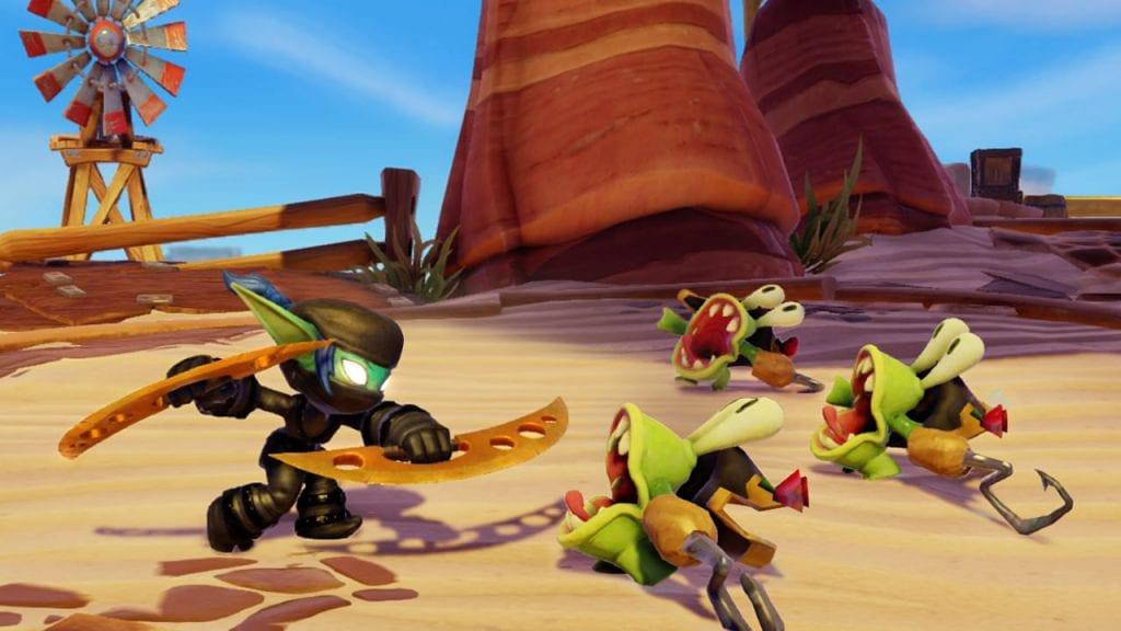 Skylanders SWAP Force_Ninja Stealth Elf