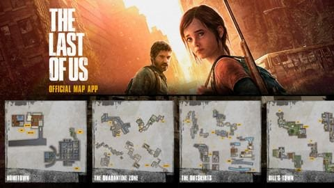The Last of Us Official Map App for iOS and Android - Movies