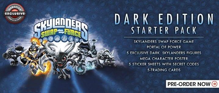 Swap Force Dark Starter pack