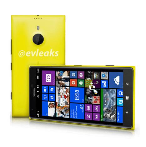 Leaked Nokia Lumia 1520