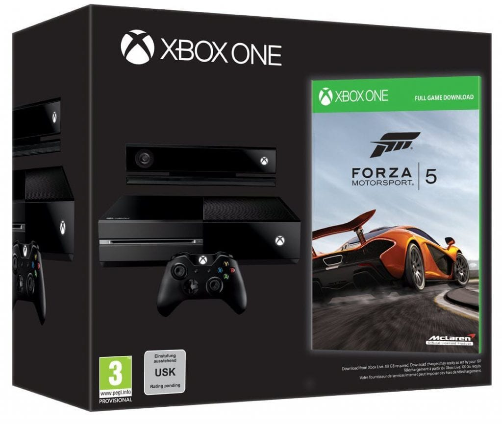 Xbox one Day one edition with Forza 5