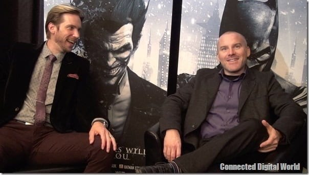 Batman Arkham Origins Exclusive interview with Troy Baker and Roger Craig Smith