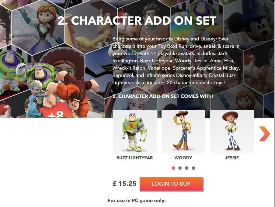 Disney Infinity Lands On The Pc Via Virtual Store