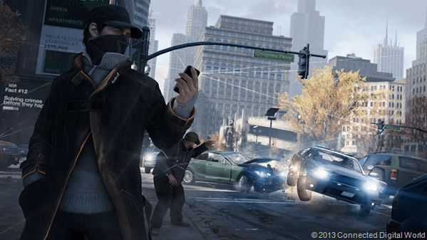WatchDogs_Police_Block_TrafficLight_