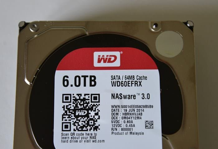 CDW Review WD 6.0TB Red Drive - 4