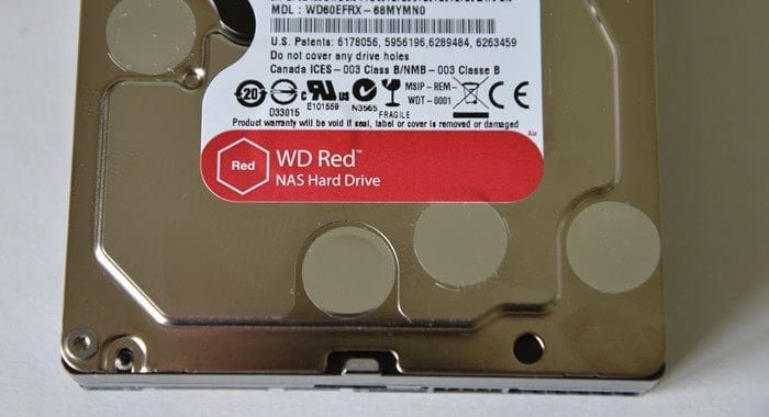 CDW Review WD 6.0TB Red Drive - 5