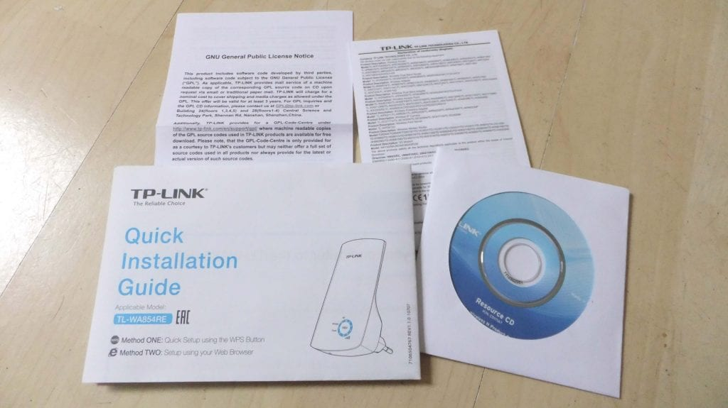 quick installation guide tp link