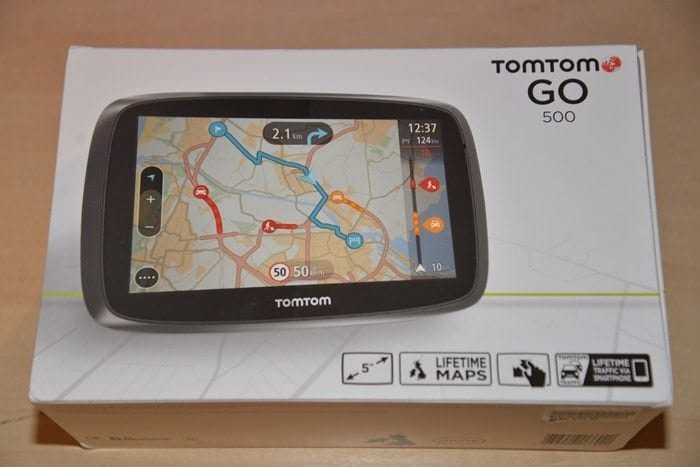 CDW Review - TomTom GO 500 - 1