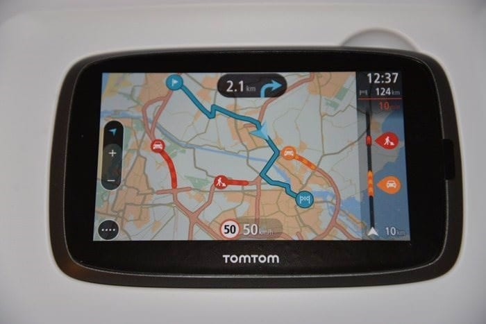 CDW Review - TomTom GO 500 - 3