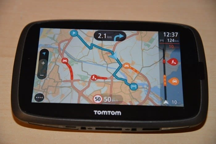 CDW Review - TomTom GO 500 - 7