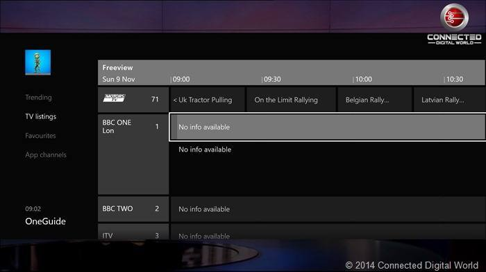 Conguring the Xbox TV Tuner 15