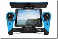 Parrot Skycontroller_Blue_Tablet