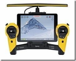 Parrot Skycontroller_Yellow_Tablet