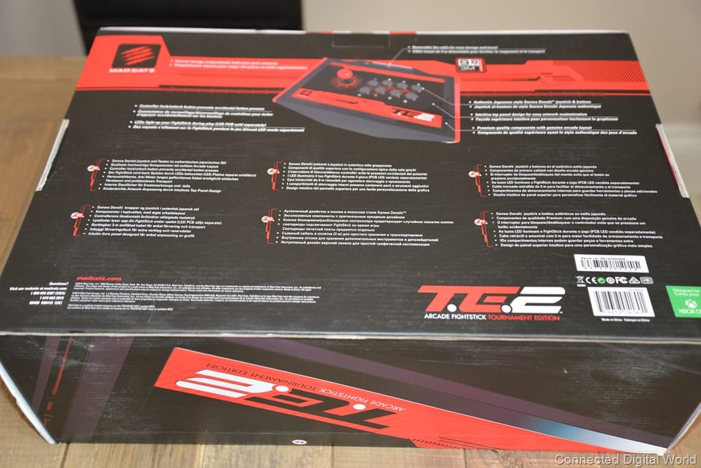 Review: Mad Catz Arcade FightStick Tournament Edition 2 for