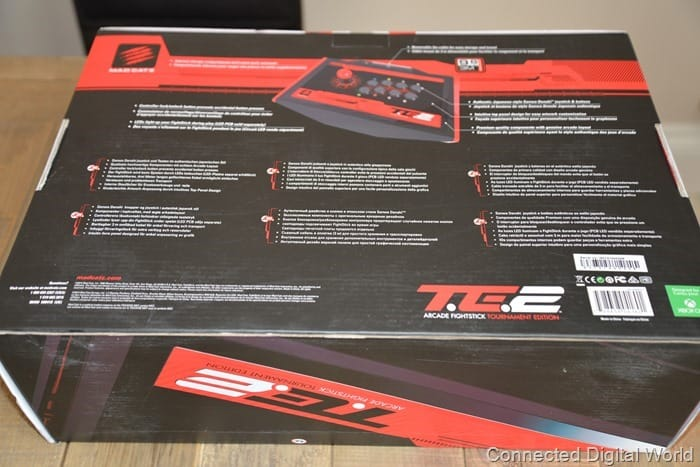 CDW Review Mad Catz TE2 Arcade Fighting Stick - 2
