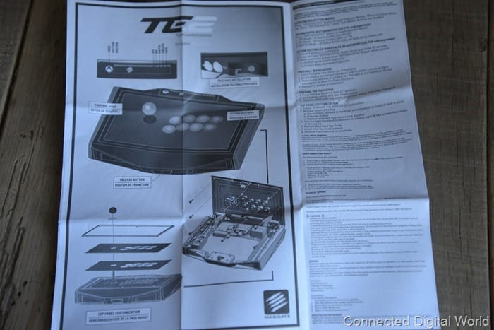 CDW Review Mad Catz TE2 Arcade Fighting Stick - 7