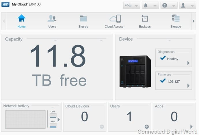 CDW Review WD My Cloud EX4100 - 20