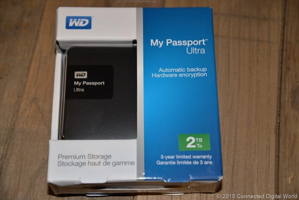Review : WD My Passport Ultra external hard drive 2015 model