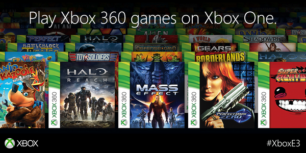 Xbox One backward Xbox 360