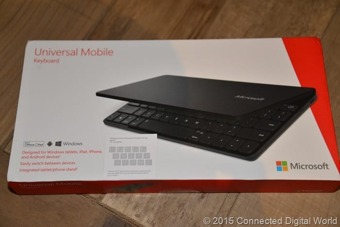 CDW Review - Microsoft Univeral Mobile Keyboard - 1