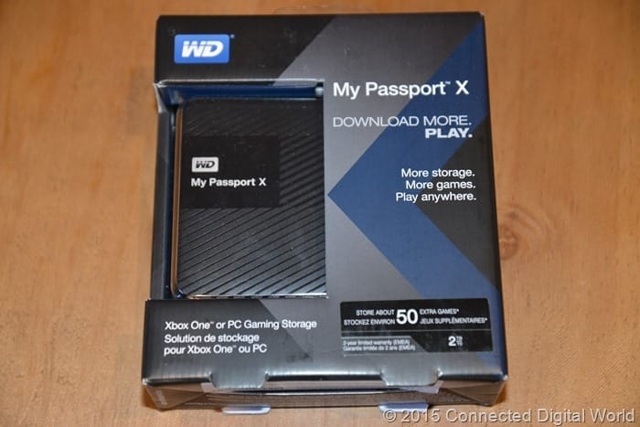 CDW Review - WD My Passport X - 1
