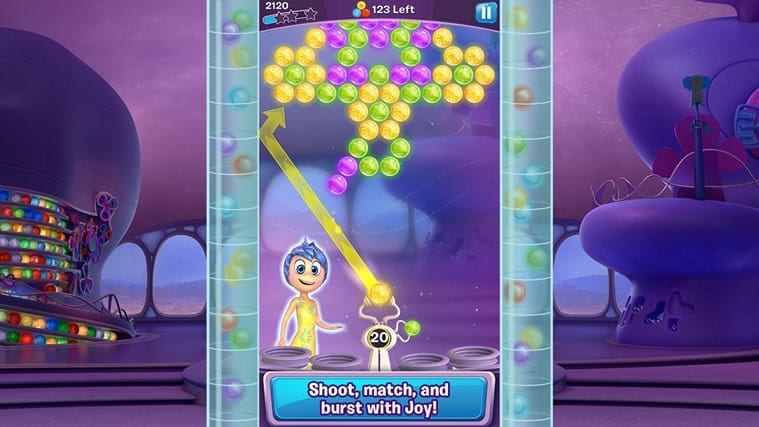Inside Out Thought Bubbles mobile game out now - Movies Games and Tech