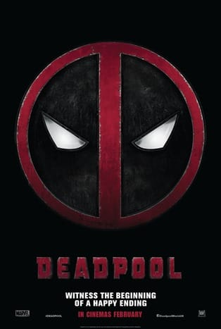 Deadpool logo poster