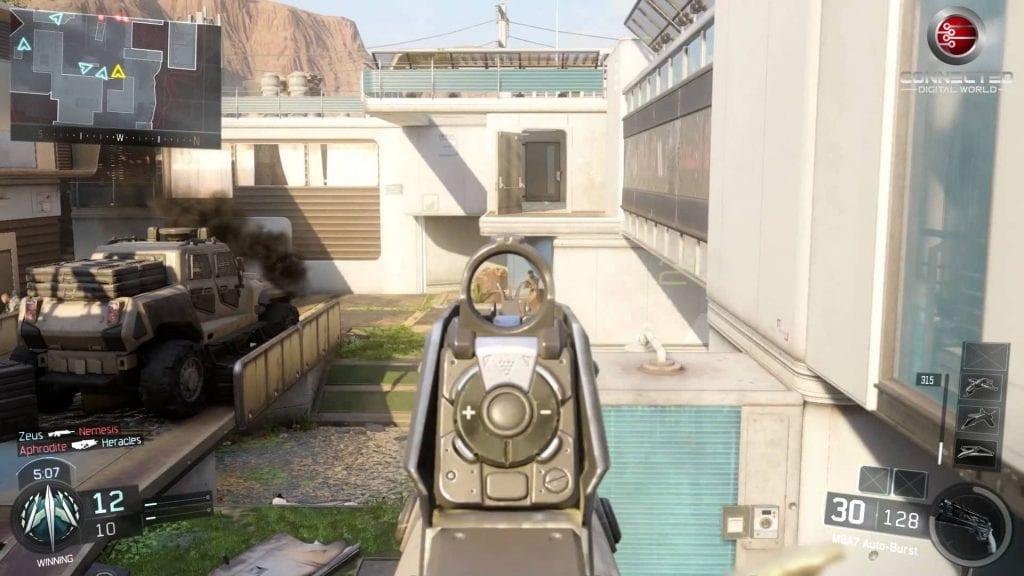 call of duty black ops iii bine map kill confirmed gameplay