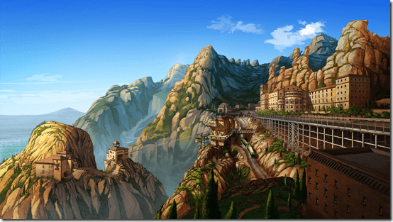Broken Sword 5 - the Serpent's Curse - Montserrat
