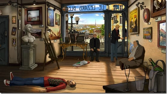 Broken Sword 5 - the Serpent's Curse - Waking Laine (Wide Shot)