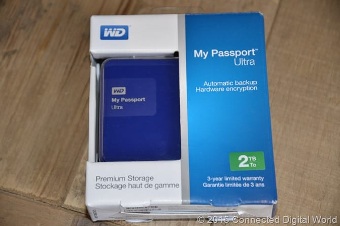 CDW Rewiew - WD My Passport Ultra Blue - 1