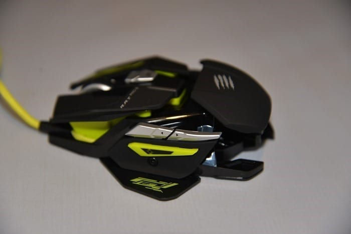 CDW Review - Mad Catz RAT PRO S Mouse - 12